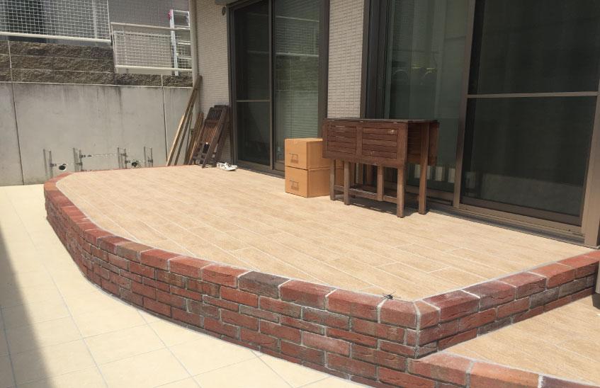 茨木市M様邸 お庭リフォーム施工例