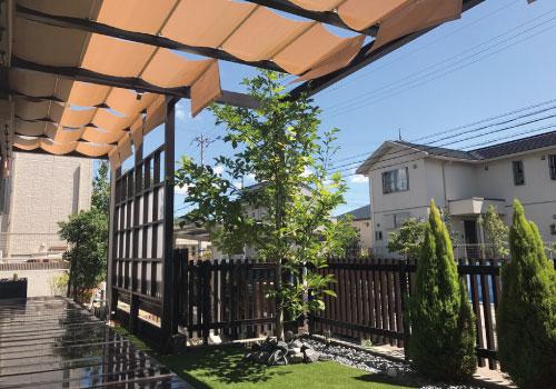 プラスGとお庭リフォームの施工例